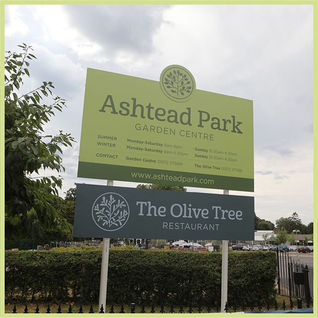 Take a look at our recent re-brand for Ashtead Park Garden Centre.  External and in-store signage, uniforms, vehicle graphics and print materials were created to showcase the new look and feel. https://buff.ly/2SWI8Xq
