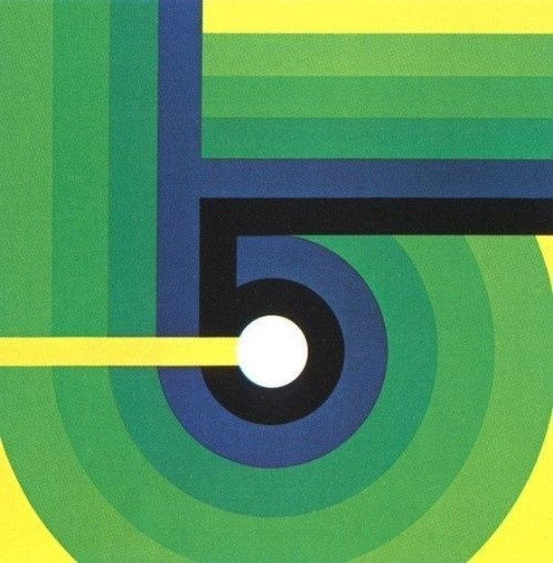 These fabulous retro numbers are attributed to Otto Rieger, 1978. They are stunning! #type #typography