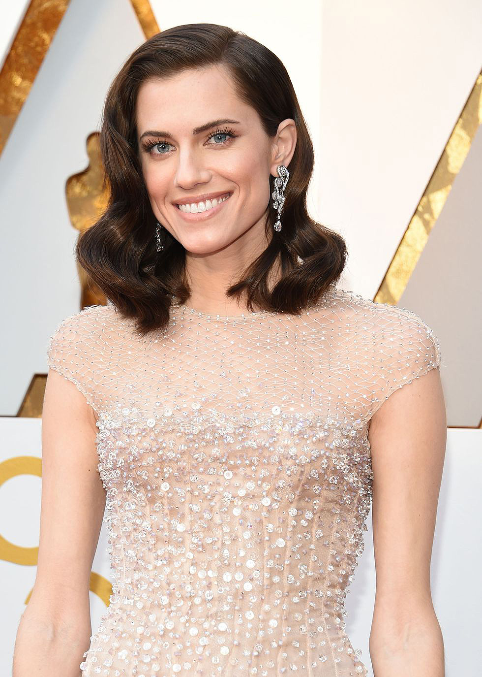 Allison Williams in Harry Winston