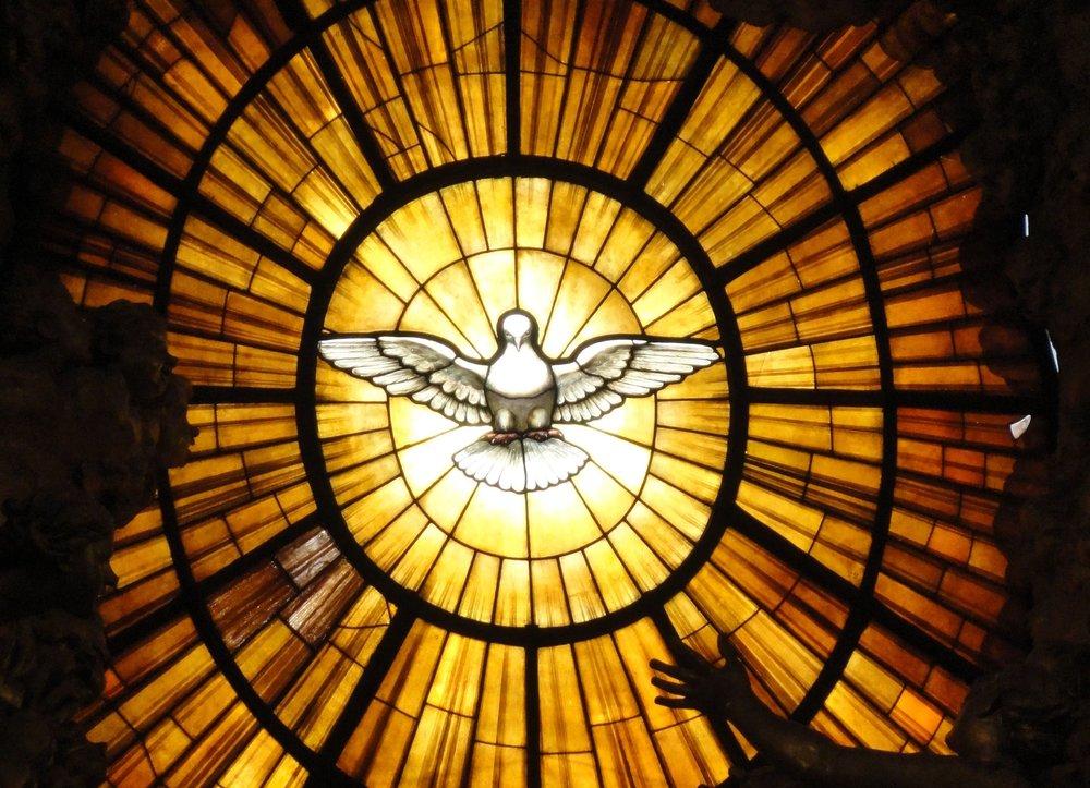 Gian Lorenzo Bernini.  Dove of the Holy Spirit . St Peter's Basilica, Vatican City.