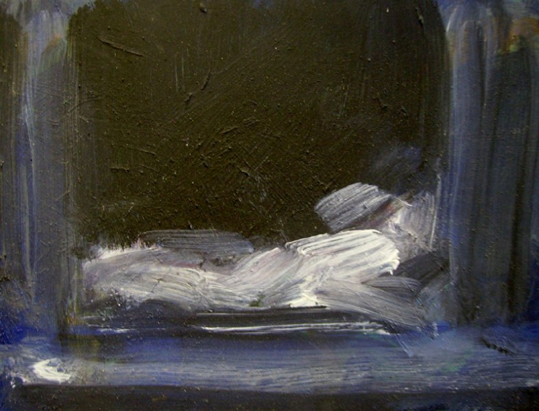 Ghislaine Howard. Study of the Empty Tomb.