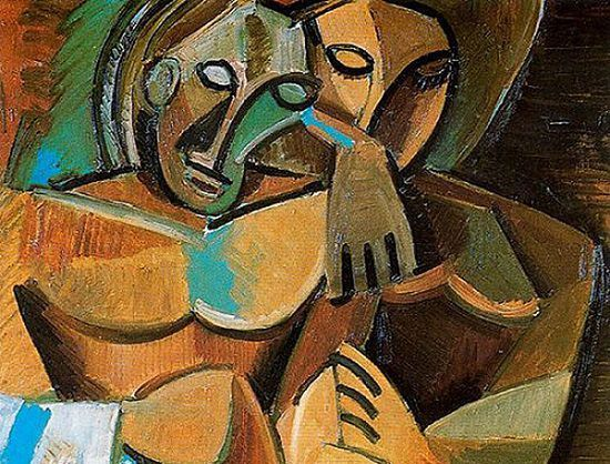 Pablo Picasso.  Friendship .