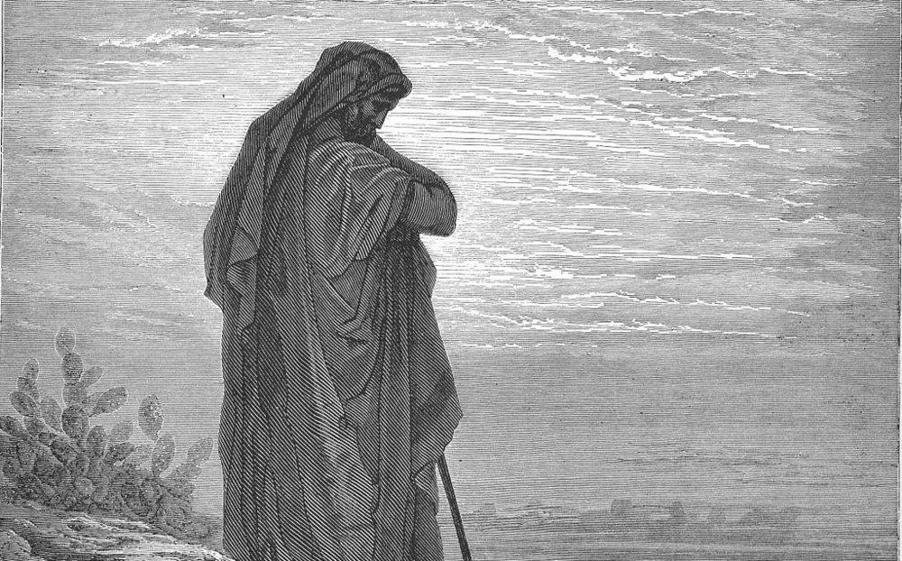Gustave Doré.  The prophet Amos .