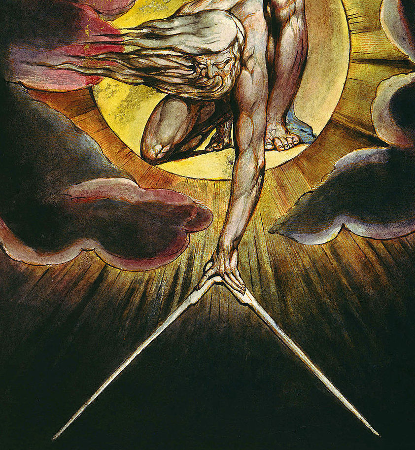 William Blake.  The Ancient of Days .