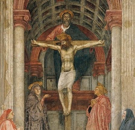 Masaccio. Holy Trinity . Santa Maria Novella, Florence.
