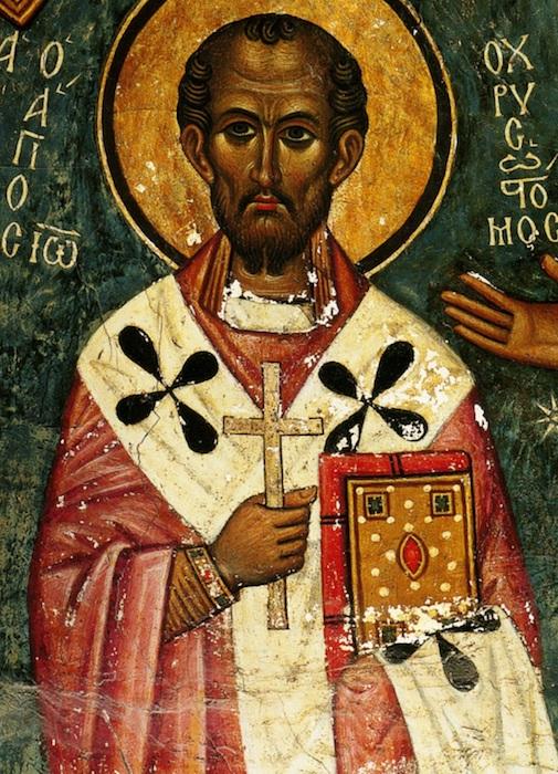 Icon.  John Chrysostom.