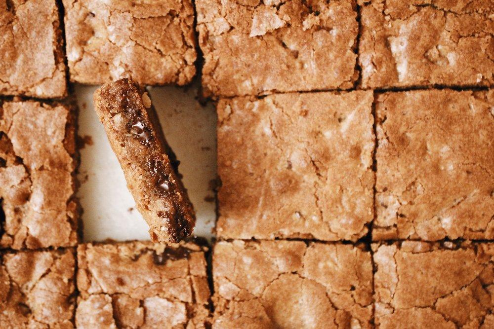Walnut Chocolate Blondies 3