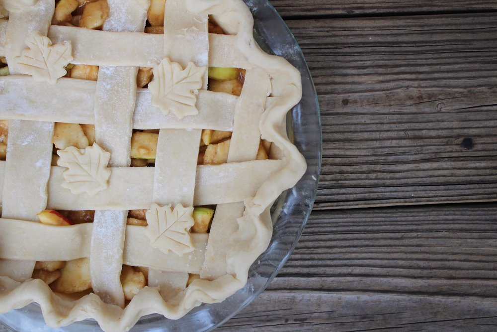 pre-bake apple pie
