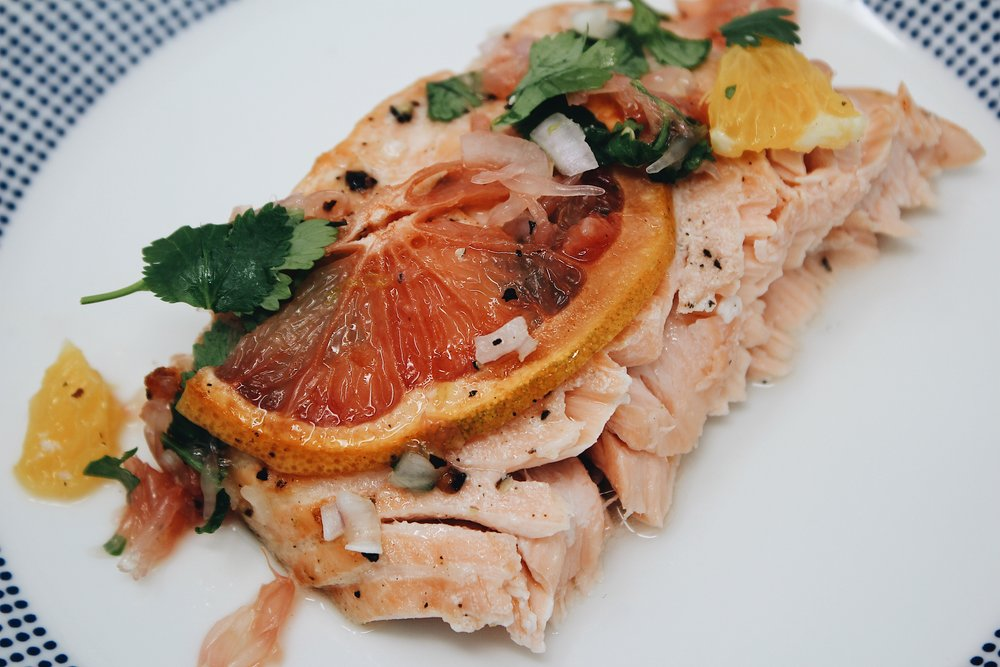 My Portuguese Mother / Citrus Salmon