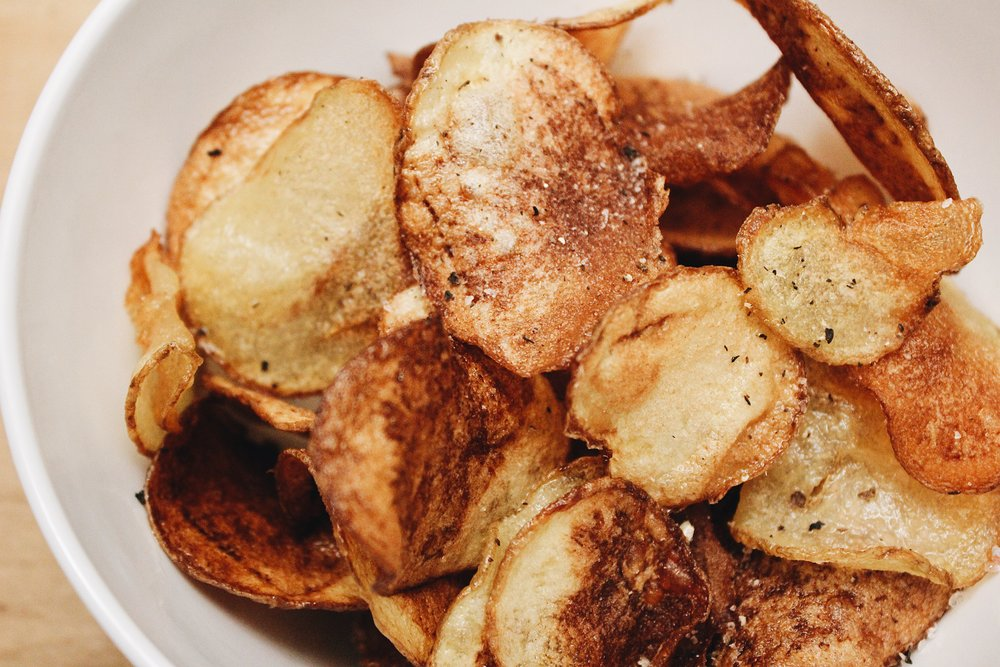 My Portuguese Mother // Potato Chips