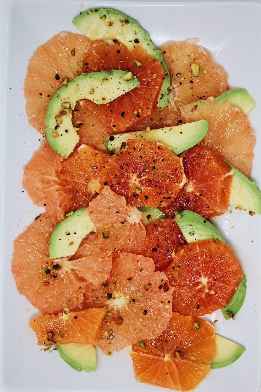 My Portuguese Mother // Citrus and Avocado Salad