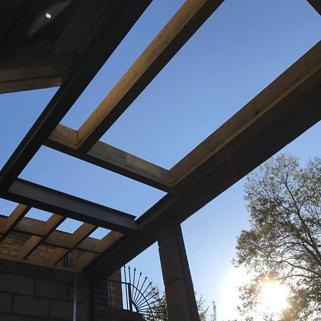 2 more skylights formed on another collaboration between @gruffltd and MPRM, more updates to follow #se14 #architecture #bespoke #skylight #details #structuralglazing