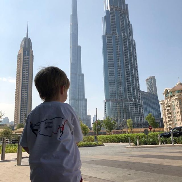 @brownsofbrockley new business venture in Dubai #makingitfrothy #se4 #halftermholiday