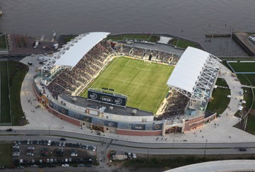Philadelphia Union soccer Stadium-Talen Energy Stadium Chester, PA