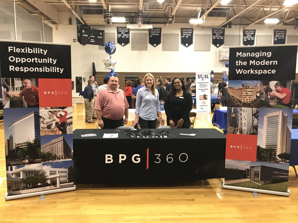 BPG|360 Participates in NCC Vo Tech Career Fairs