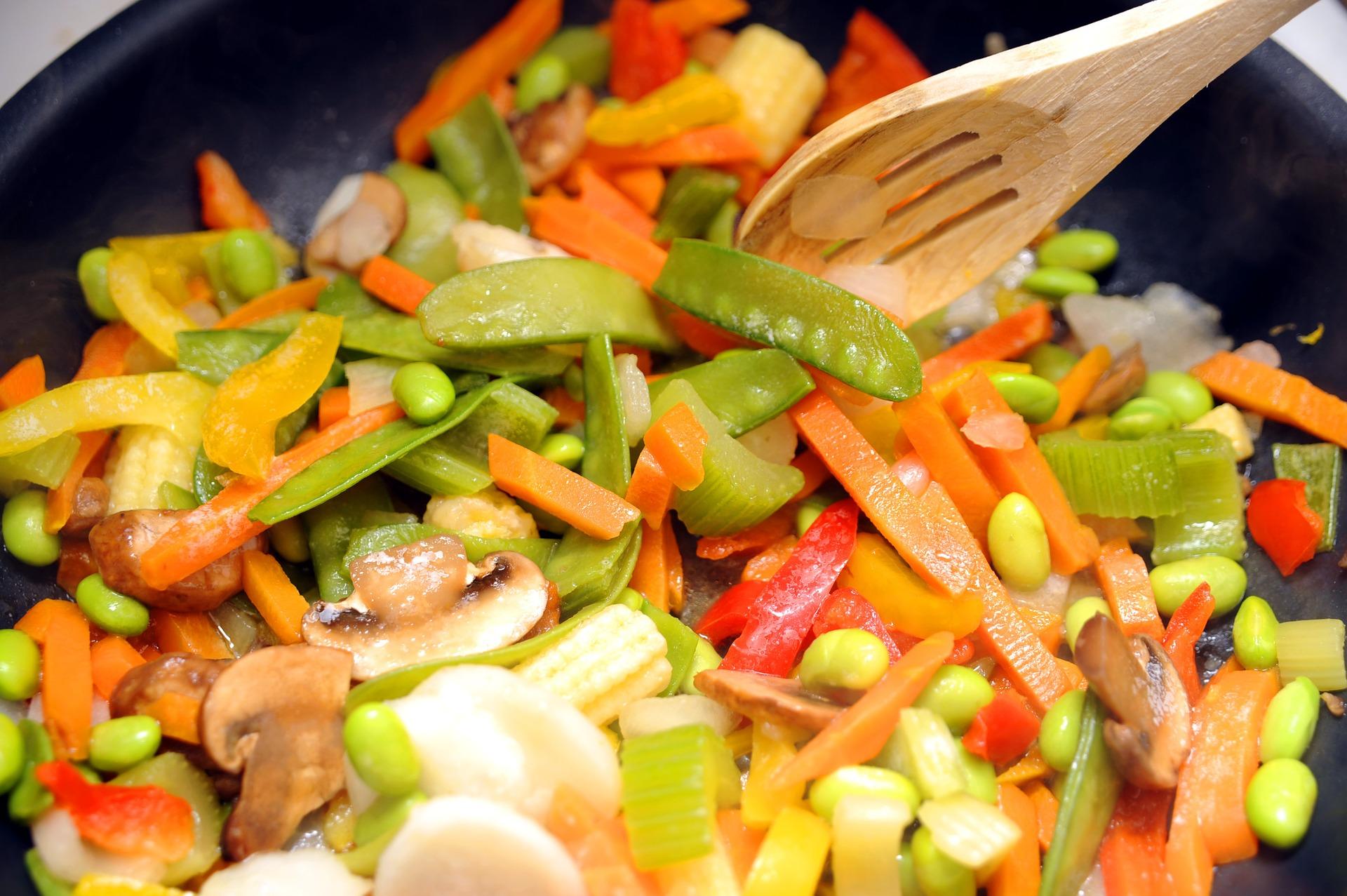 Veggie stir fty