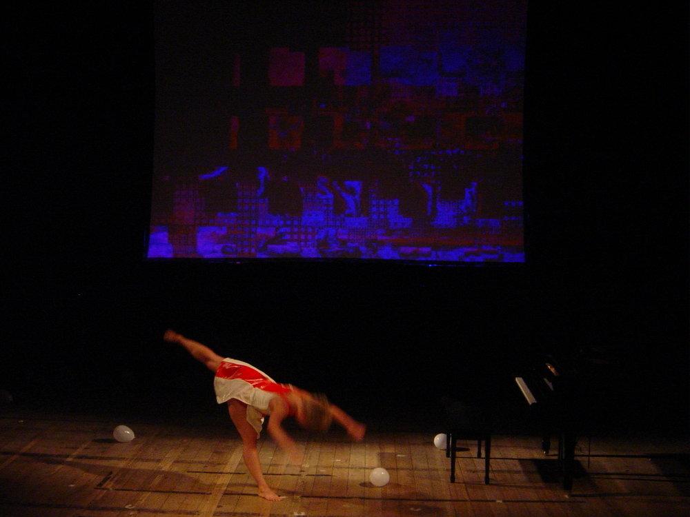 XV Biennial  of Brazilian Contemporary Music – Rio de Janeiro (2003). Work:   Reflect.  Dancer: Christina Towle