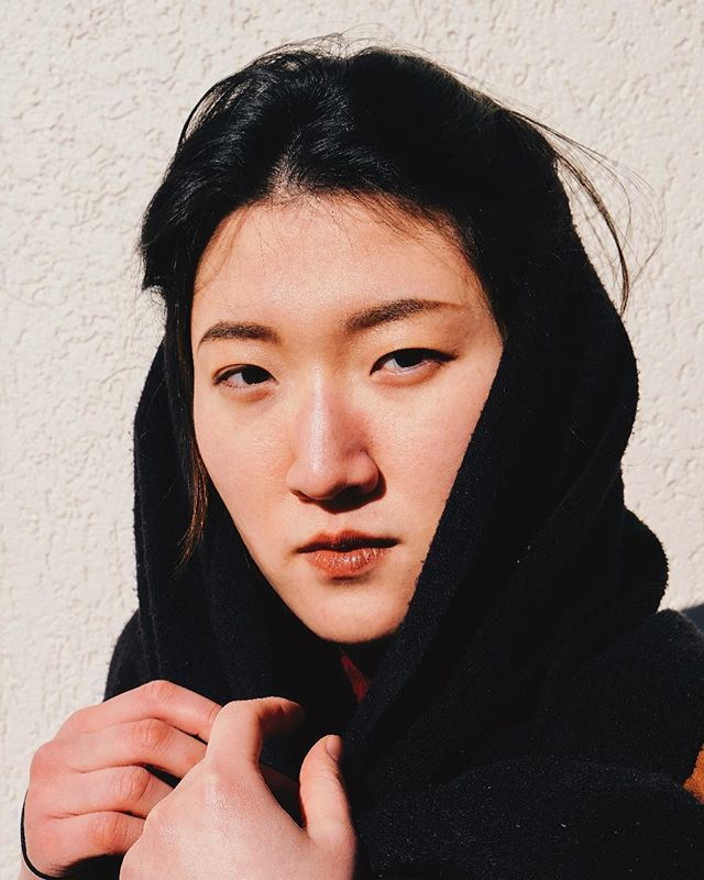 Yujina✨ #photography #portrait #portraitphotography #koreanbeauty #sunlight #shadow #amsterdam #fujifilm