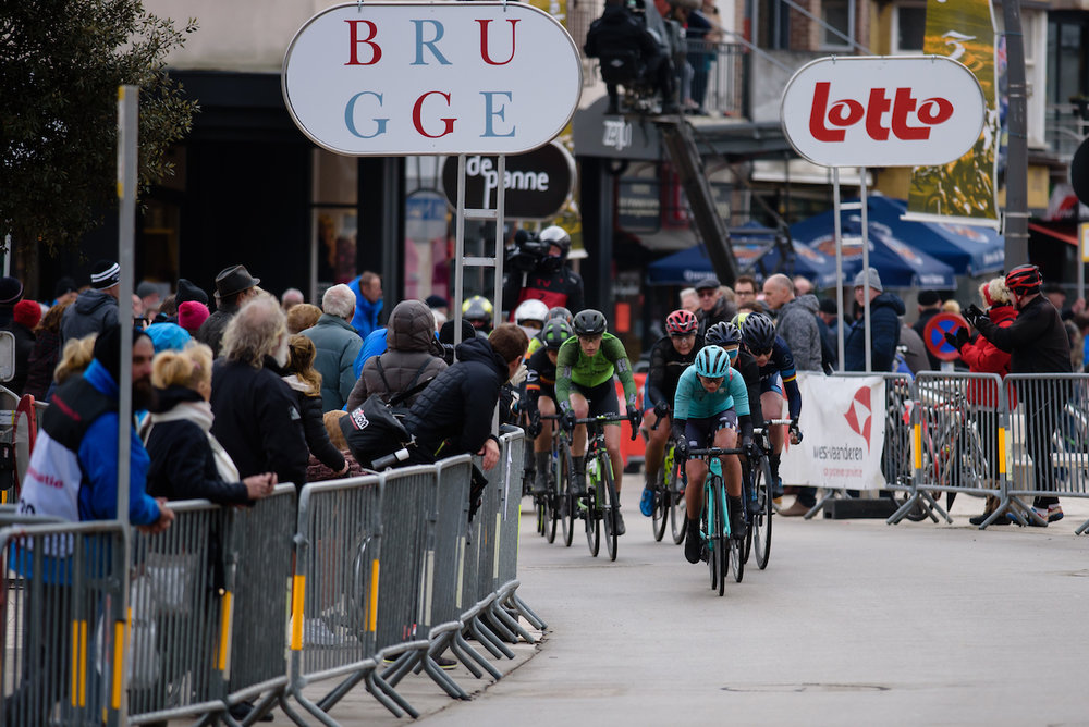 Eva Buurman (NED) at Driedaagse Brugge - De Panne 2018 - a 151.7 km road race from Brugge to De Panne on March 22, 2018. Photo by Sean Robinson/Velofocus.com