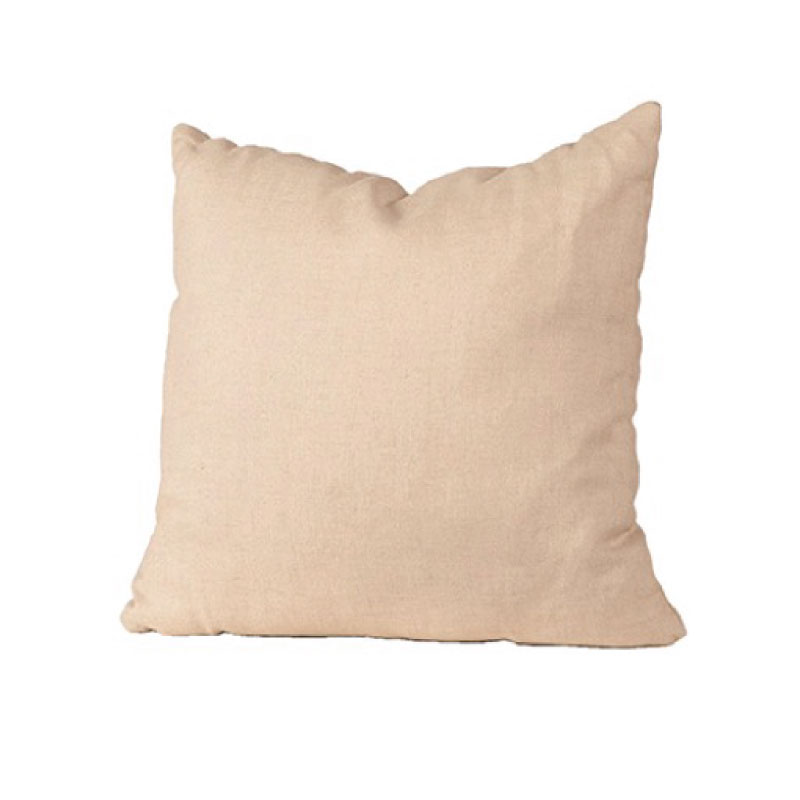"LARGE LINEN PILLOW   20""l x 20""h"