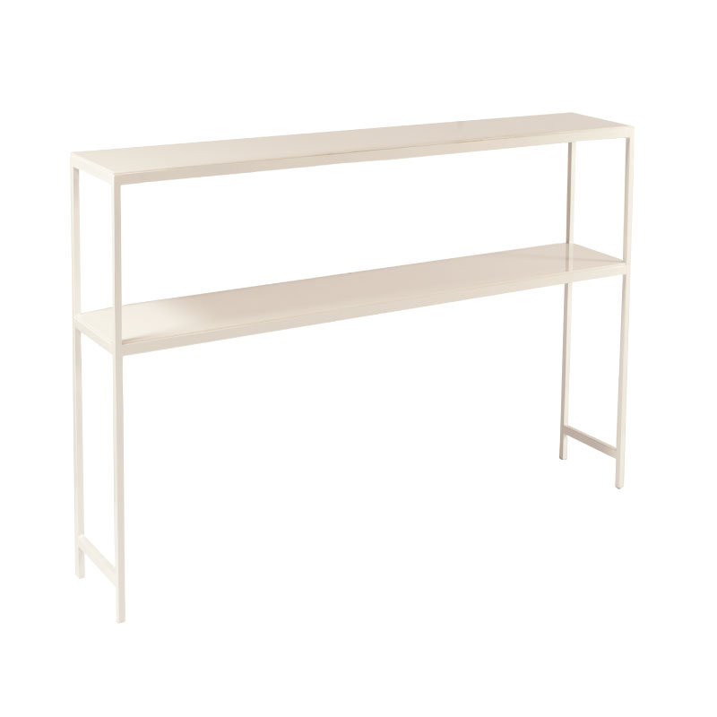 "WHITE BAR SHELVING    8'l x 16""w x 70""h"