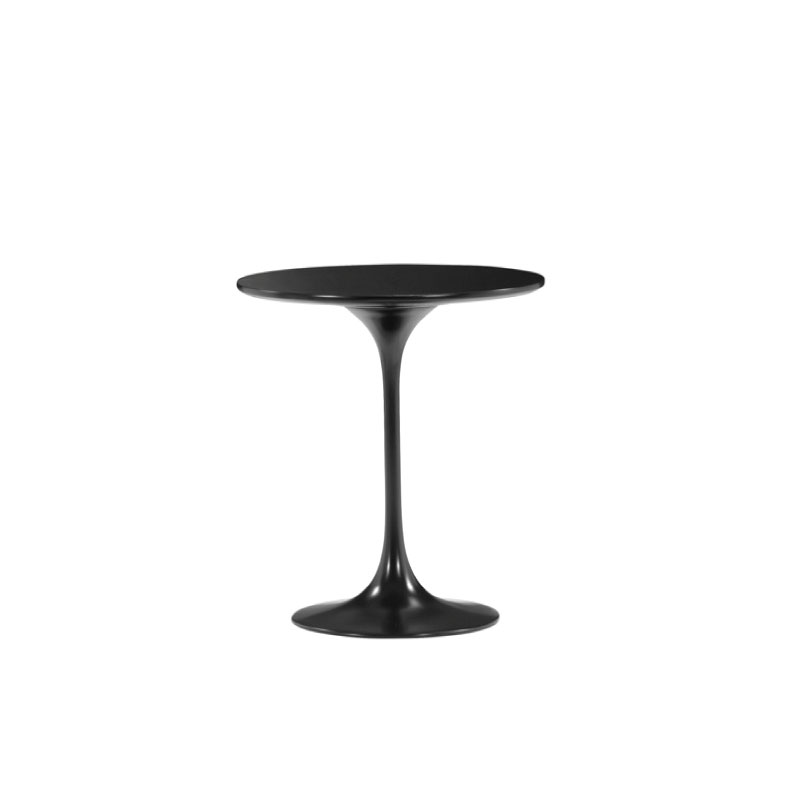 "BLACK JETSON SIDE TABLE   20"" diameter x 23""h"