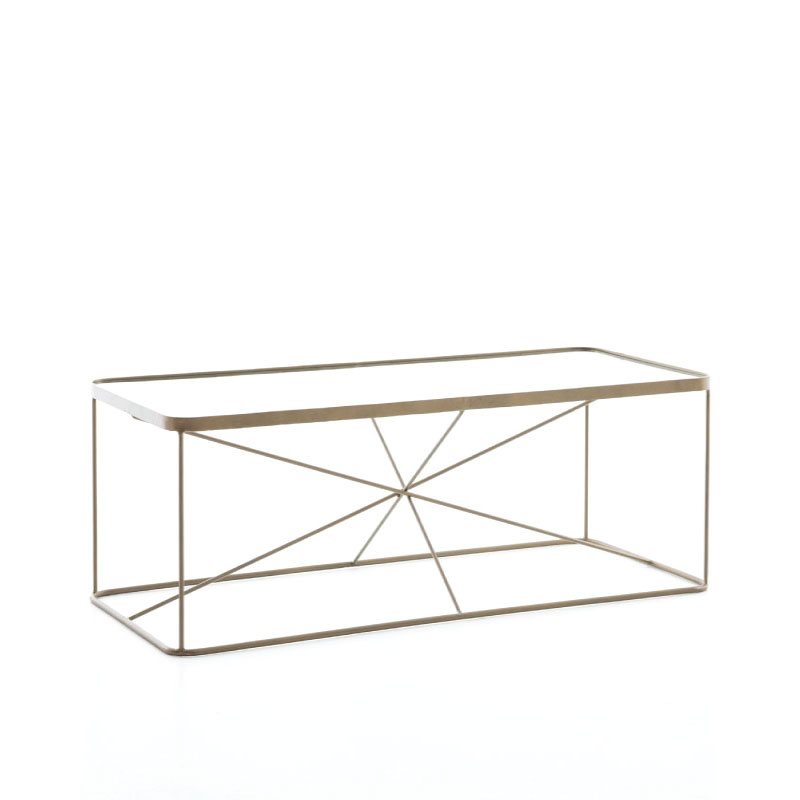 "LUCAS COFFEE TABLE   52""l x 23""d x 16""h"