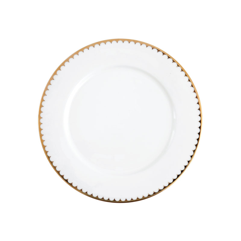 "DUTCHESS   available in: Dinner Plate (10.75""), Salad/Dessert Plate (8""), Bread Plate (6.5""), Coffee Cup (8 oz), Saucer (6.5"")"