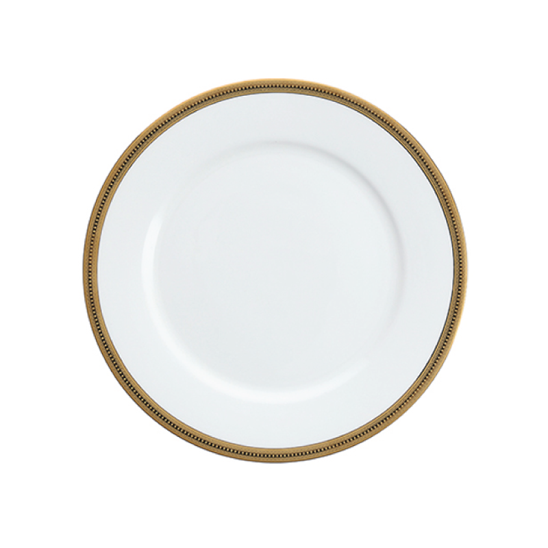 "DAUPHINE   available in: Dinner Plate (10.6""), Salad/Dessert Plate (8""), Bread Plate (6.5""), Coffee Cup, Saucer (6.5"")"