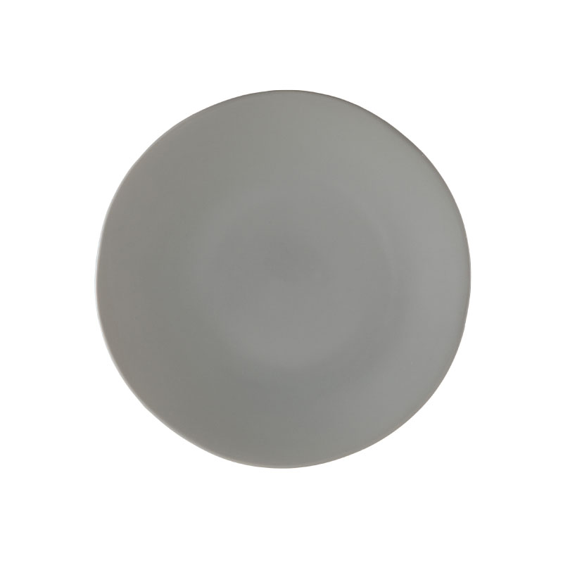 "HEIRLOOM GREY   available in: Dinner Plate (10.75""), Salad/Dessert Plate (8""), Bread Plate (6.25"")"