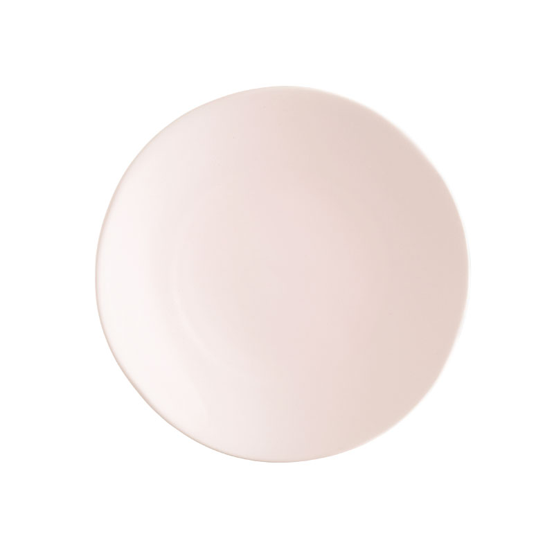 "HEIRLOOM BLUSH   available in: Dinner Plate (10.75""), Salad/Dessert Plate (8""), Bread Plate (6.25"")"