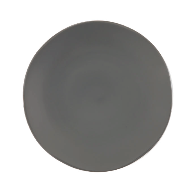 "HEIRLOOM CHARCOAL CHARGER   available in: Charger Plate (12"")"