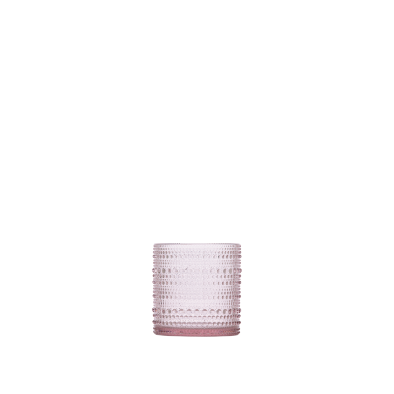 DARCY BLUSH SMALL GLASS   available in: 10 ounce