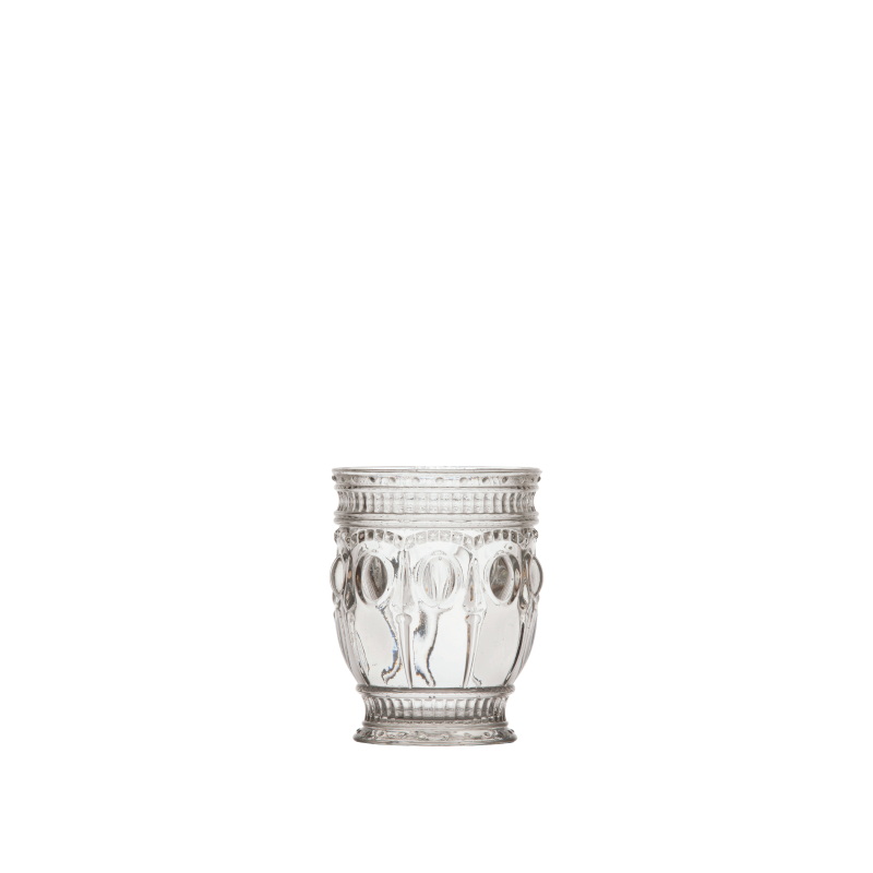 PARISIAN CLEAR BEVERAGE GLASS   available in: 12 ounce