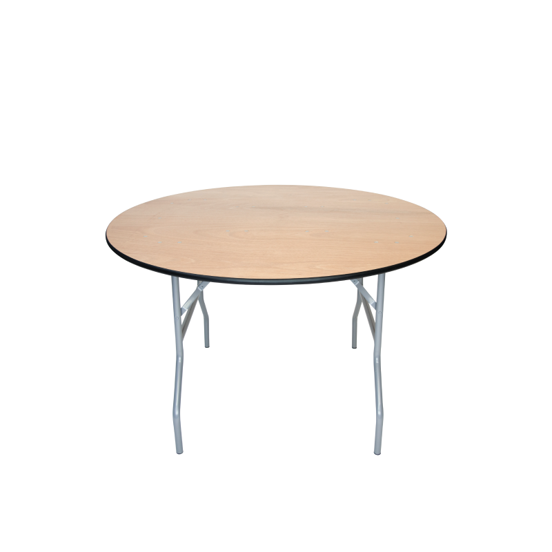 "ROUND TABLE   available in: 36""; 48"", 60"", 72"""