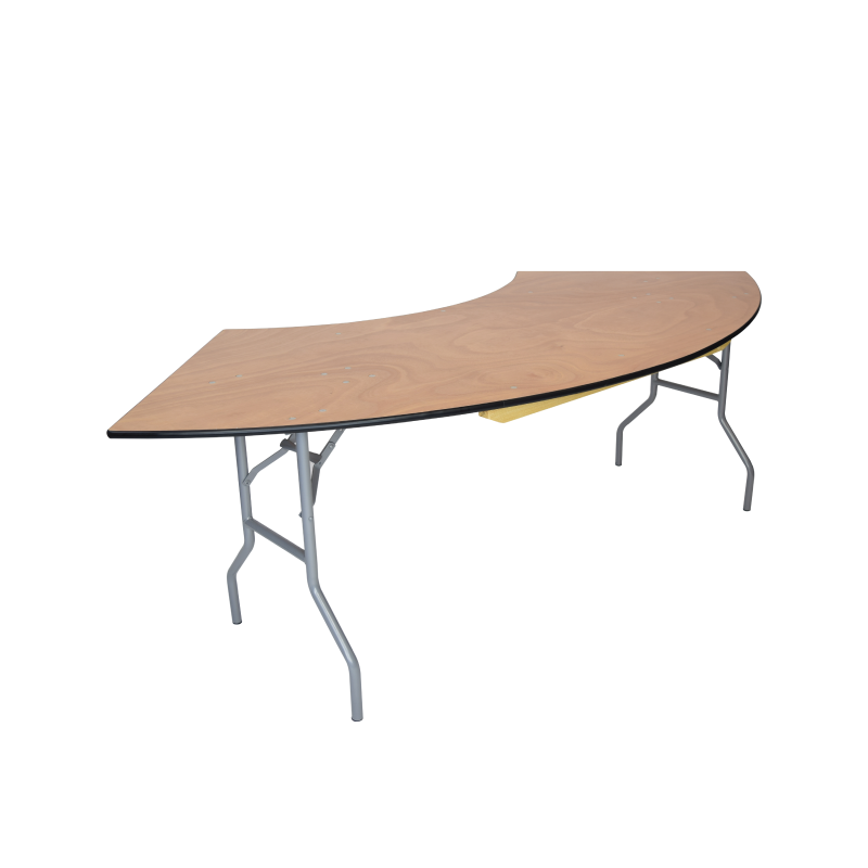 SERPENTINE TABLE   available in: 5'