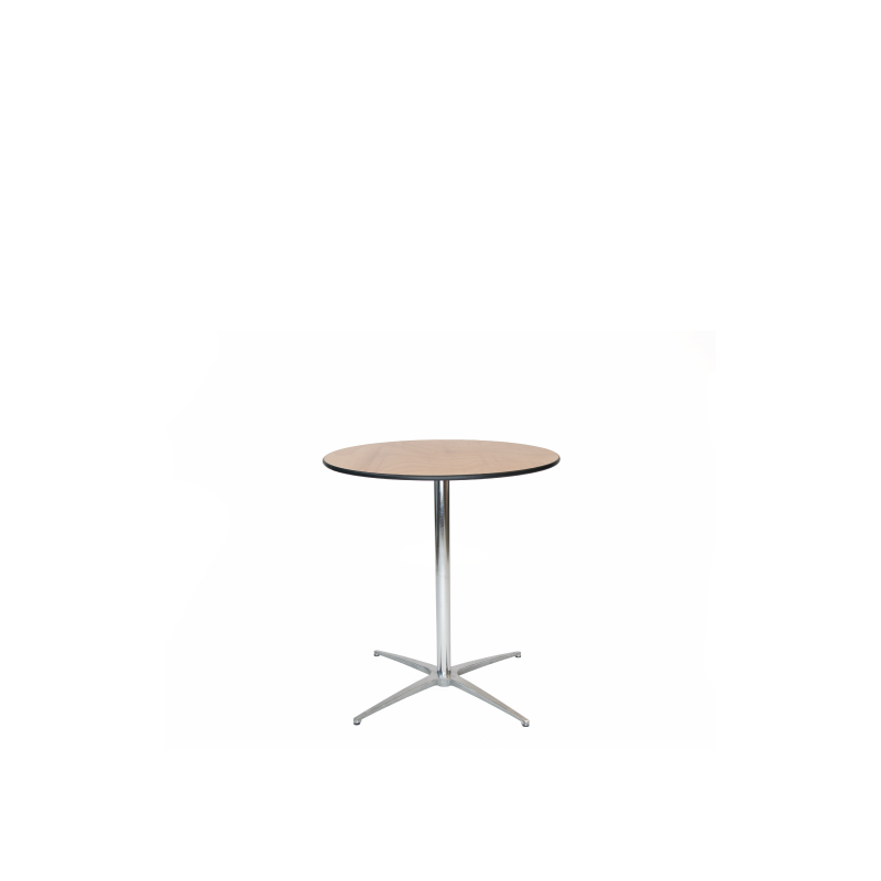"BISTRO TABLE   available in: 30"" x 30"", 36"" x 30"""