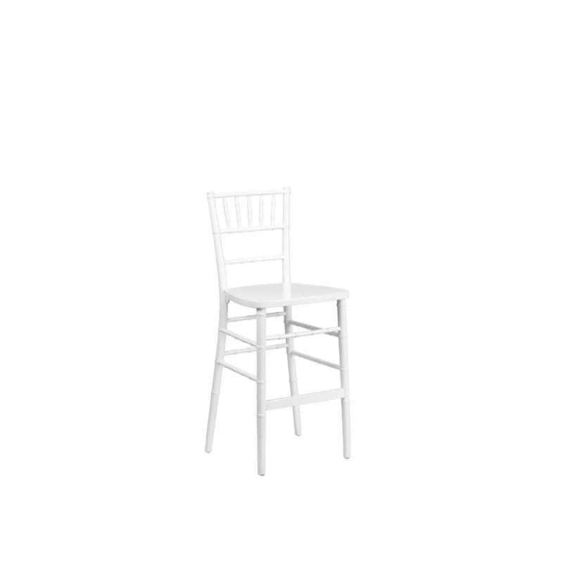 WHITE CHIAVARI BARSTOOL