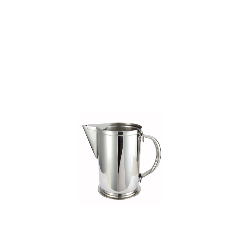 MOD SILVER PITCHER   available in: 64 ounce