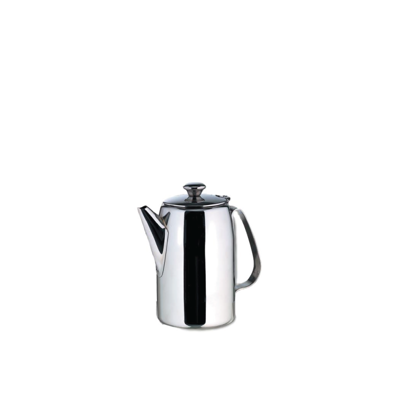 MOD SILVER COFFEE/TEA POT   available in: 68 ounce