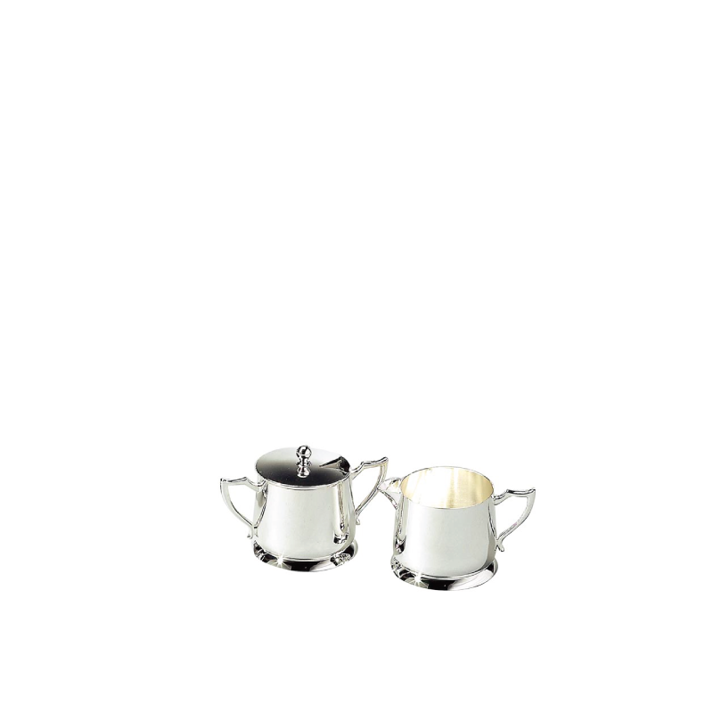 CLASSIC SILVER CREAM & SUGAR SET