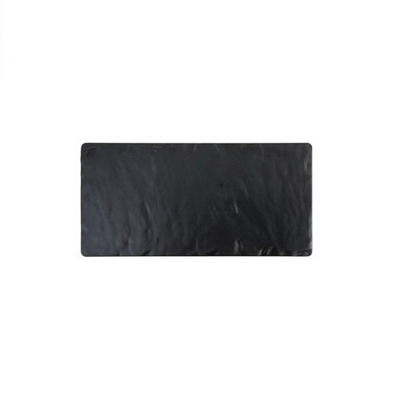 "MELAMINE SLATE RECTANGULAR TRAY   available in: 8""x18"", 10""x20"""