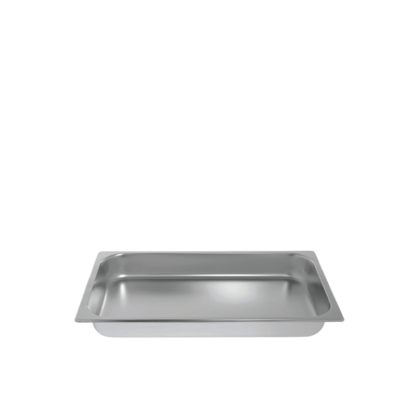 RECTANGULAR FOOD PAN   available in: 8 quart Madison, 8 quart Crown, half size stainless steel, full size stainless steel