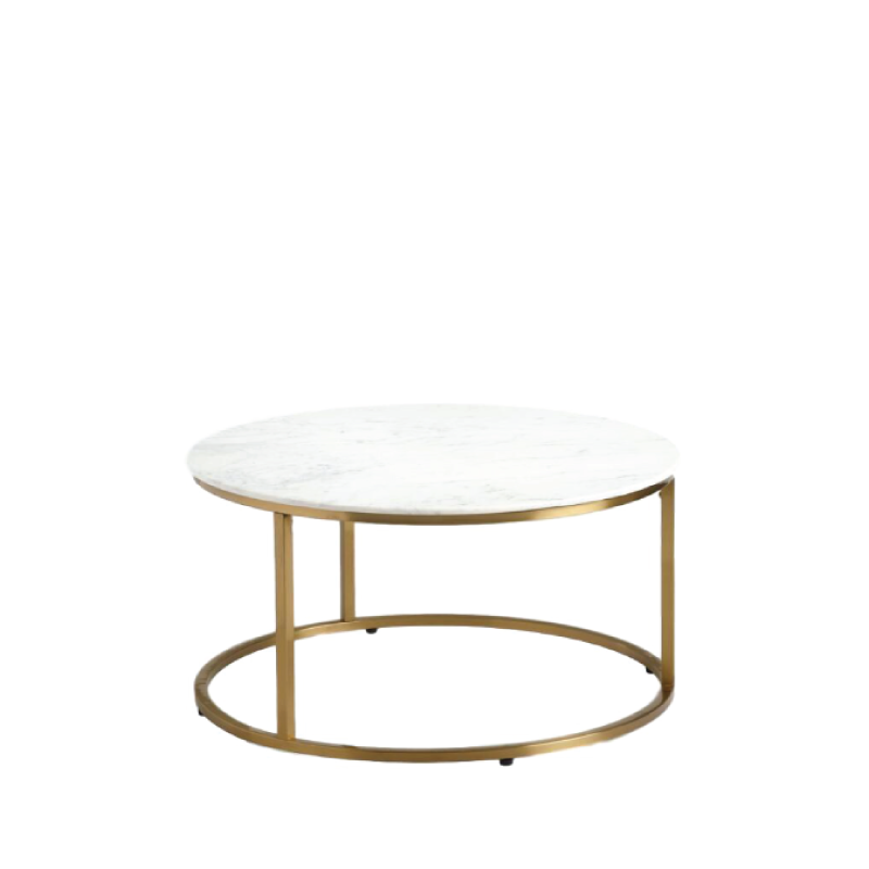 "GREER COFFEE TABLE   30"" diameter x 19""h"