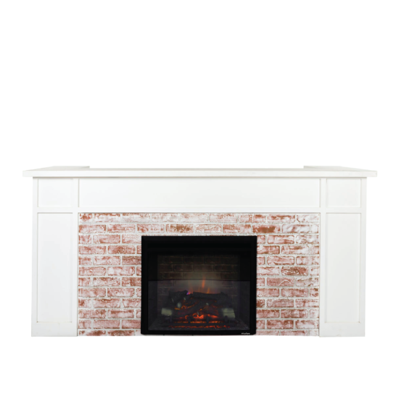 "FIREPLACE BAR FACADE   8'l x 44""h x 15"" top with 16"" side returns"