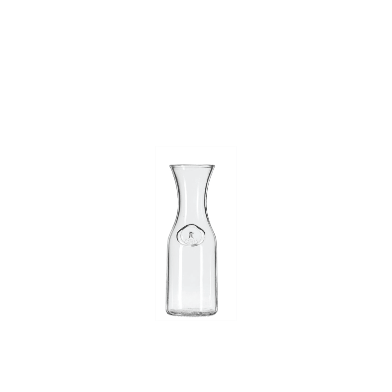 GLASS CARAFE   available in: 40 ounces