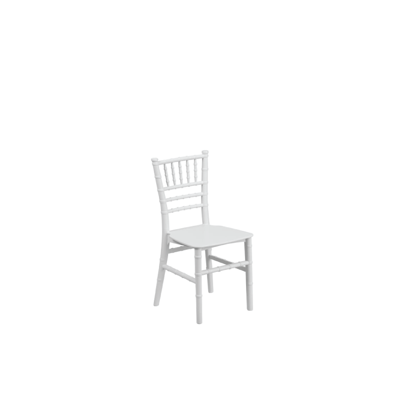 WHITE CHILDREN'S CHIAVARI CHAIR