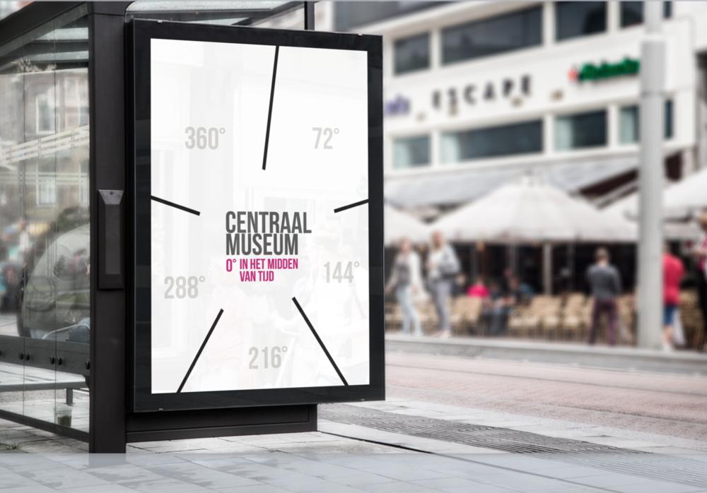 In het midden van tijd - Key messaging & brand concept for the Centraal Museum Utrecht