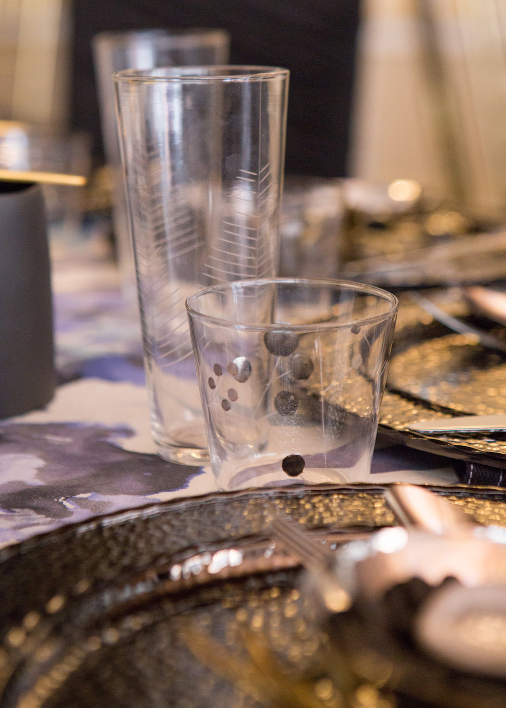 Charity Gala Tablescape