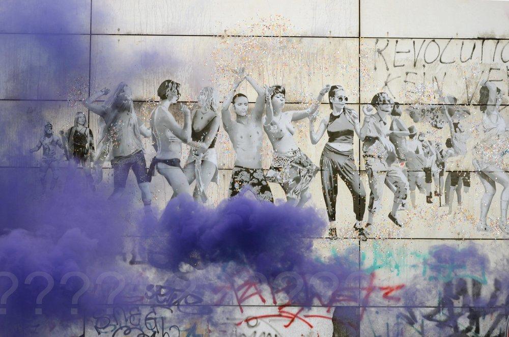 Cloudy Riot///Berlin 2017